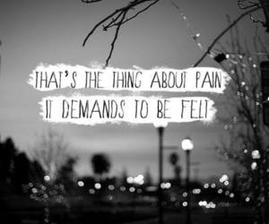 pain, quote, and the fault in our stars image