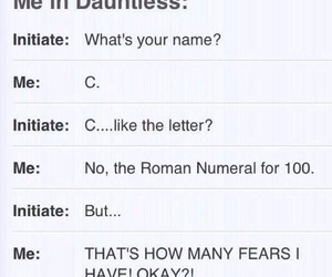 divergent, funny, and dauntless image
