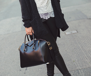 fashion, Givenchy, and black image