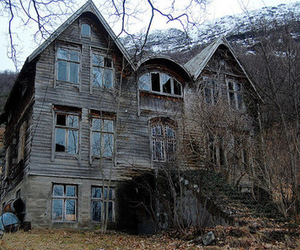 house, old, and abandoned image