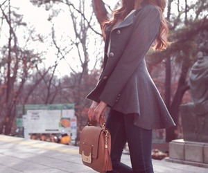 beautiful, outfit, and coat image