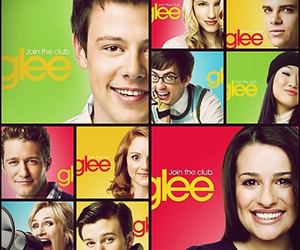 series, celebrity, and glee image