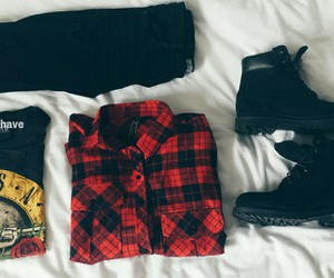alternative, fashion, and grunge image