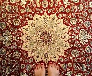 feet, mandala, and tapete image