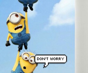 minions and happy image