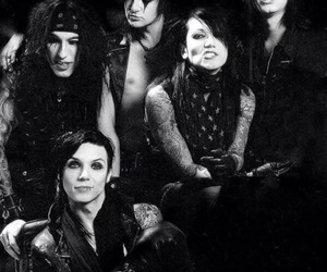 black veil brides, andy biersack, and jinxx image