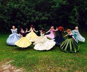 disney, princess, and dress image