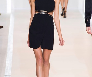 model and runway image