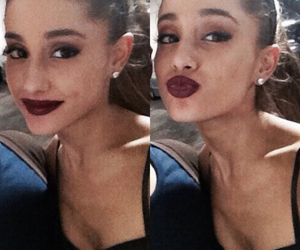 kiss, ariana, and ariana grande image