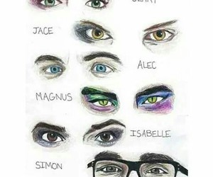 eyes, isabelle, and clary image