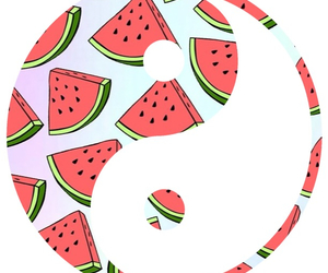 overlay, transparent, and watermelon image