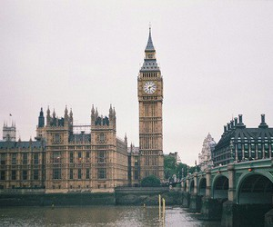 london, Big Ben, and city image