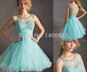 off shoulder dress, blue homecoming dresses, and tiffany blue dress image