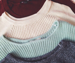 girl, sweater, and loveit image