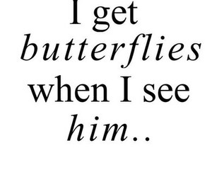 butterfly, love, and him image