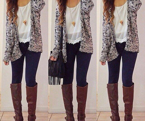 autumn, style, and clothes image