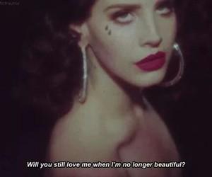 lana del rey, Lyrics, and young and beautiful image
