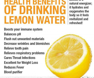 lemon, healthy, and water image