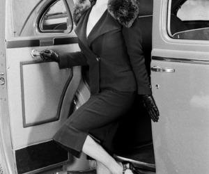 Dita von Teese, car, and hat image