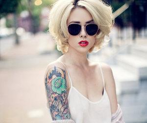 tattoo, girl, and alysha nett image