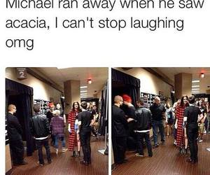 5sos, michael clifford, and funny image