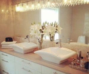 bathroom, house, and beautiful image