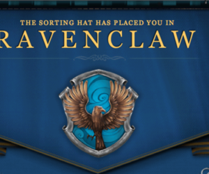 ravenclaw, harry potter, and pottermore image