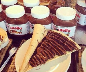 nutella and pancakes image