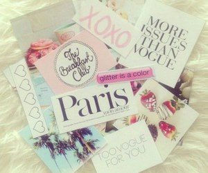 paris, vogue, and girly image