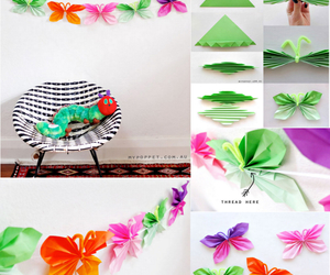 butterfly, craft, and diy image