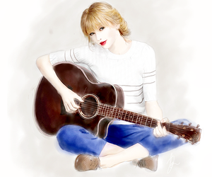 Taylor Swift, draw, and drawings image