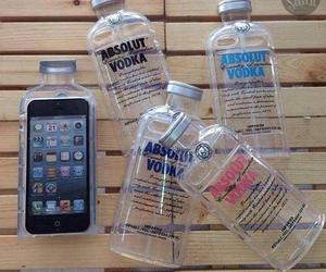 iphone, cute, and vodka image