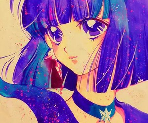 sailor saturn and sailor moon image