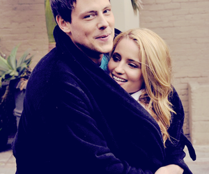 cory monteith, glee, and dianna agron image