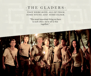 the maze runner and gladers image