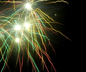 color, firework, and neon image