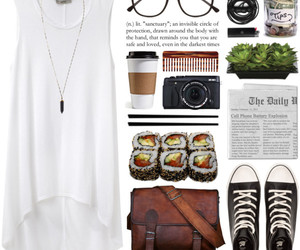 style, fashion, and Polyvore image