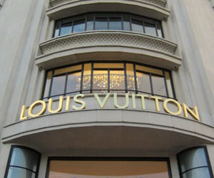 Louis Vuitton, LV, and luxury image
