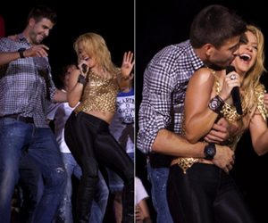 pique, shakira, and kiss image