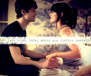 500 Days of Summer, couple, and text image