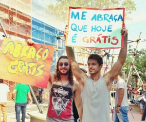 guys, msonhos, and abraço grátis image