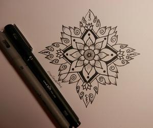 art, design, and flower image