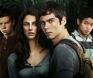 the maze runner, Minho, and thomas image