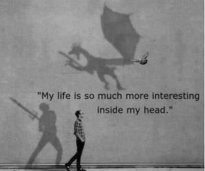 books, dragon, and imagination image