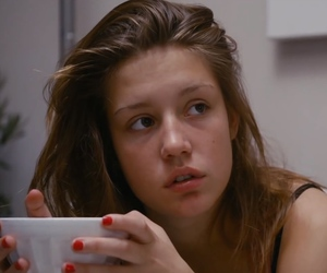 blue is the warmest color, movie, and Adele image