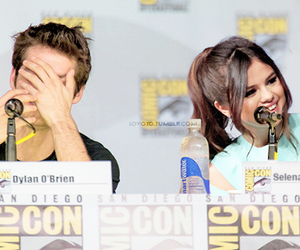 teen wolf, dylan o'brien, and selena gomez image