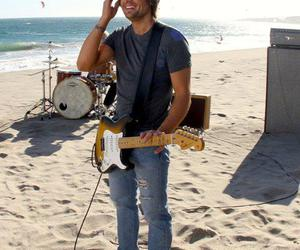 beach, country, and guitar image