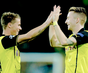 marco reus, erik durm, and germany image
