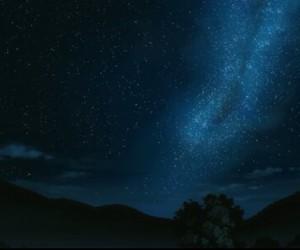 stars, anime, and galaxy image