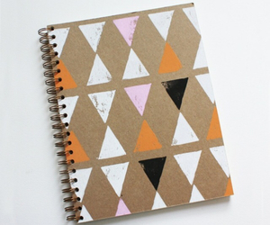 school and notebook image